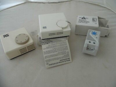 Stego Thermostat KTS 011~ 0°C to +60°C 01141.0-0 PLUS 2X RS thermostats 5-30 NEW