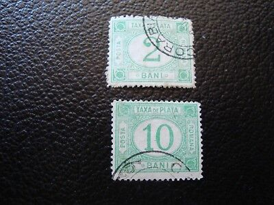ROMANIA - stamp yvert/tellier tax n° 7 9 cancelled (COL3)