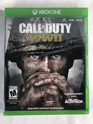 Call of Duty WWII World War 2 (Xbox One) Brand New Factory Sealed
