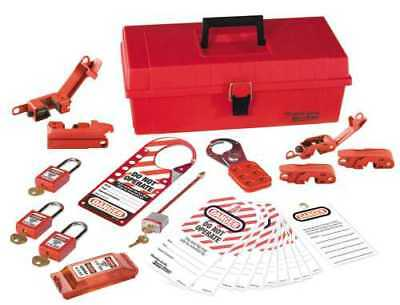 Master Lock� Personal Lockout Kit Electrical