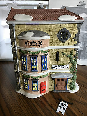 "Dept 56 - Dickens Village Series ""Kings Road Post Office"" (1992)"