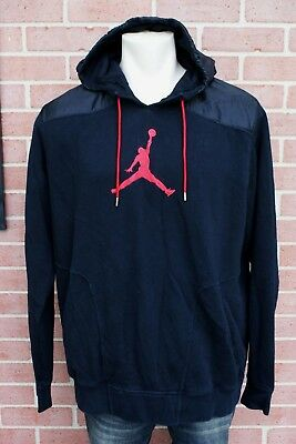 Air Jordan Wings Therma Lite Men/'s Hoodie Black//Red 831344-010