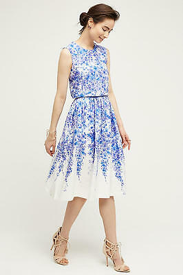 b1507f0766d8 NWT Anthropologie Margaux Dress by Donna Morgan, size 12, Beautiful Floral  lines