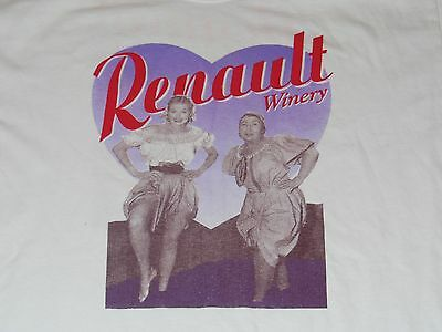 Renault Winery New Jersey Nj Shirt Mens Large Wine