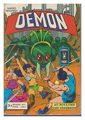 Demon Album N° 3229 N° 9 / 10 Comics Pocket 1979 Be
