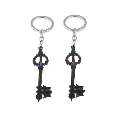1pc Game Kingdom Hearts Sora Key Keychain Keyring Pendant Cosplay Otaku Gift New