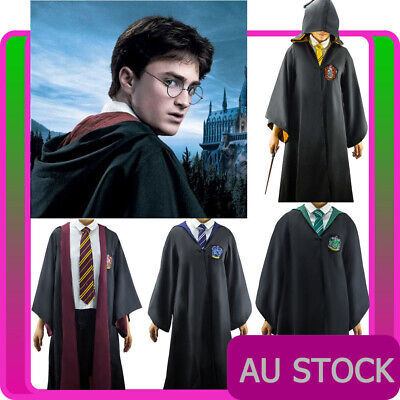 Teens Harry Potter Robe Costume Kids Child Book Week Girls School Boys Outfit