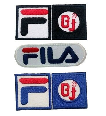 FiLA F BJ Pro Sports Logo Iron-on /Sew-on Embroidered Patch / Badge /Logo
