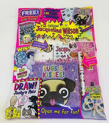 The Official Jacqueline Wilson Mag Magazine #139 - AMAZING FREE GIFTS! (NEW)
