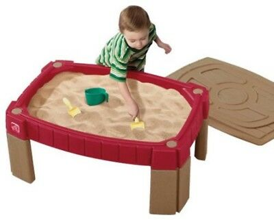 Wooden Toddler Sandbox 3/'X3/' Outdoor Garden Kids Mini Play Set Toy With Cover