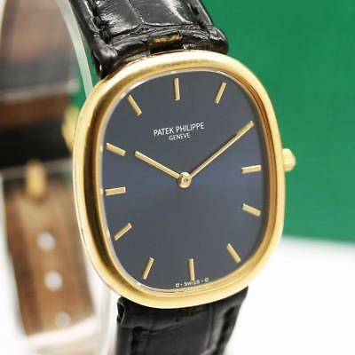 f8318968258 Patek Philippe Ellipse 3738 100 18K Yellow Gold Automatic Micro Rotor Mens  Watch