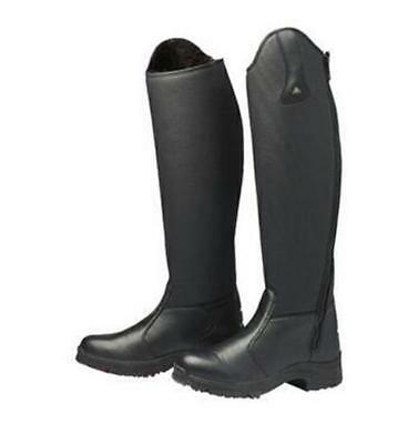 NEW &DISCOUNTED! Mountain Horse Ice High Rider Tall Riding Black Boots EU39 AU 8