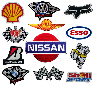 Formula One RACE SPONSOR Patches sew - Iron-On Patch car logo sports