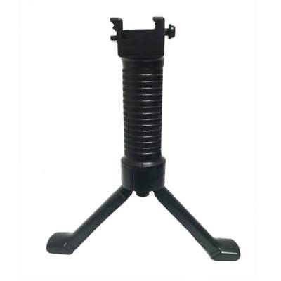 Tactical Airsoft Rifle RIS Handle Shooting Bipod Fore Grip Weaver 20mm Rail