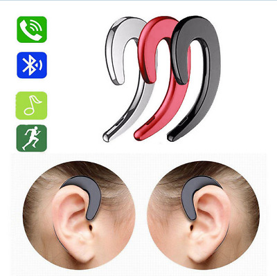 Bluetooth Stereo Bone Conduction Sport Headphone Earphone for All Smart Phone BS