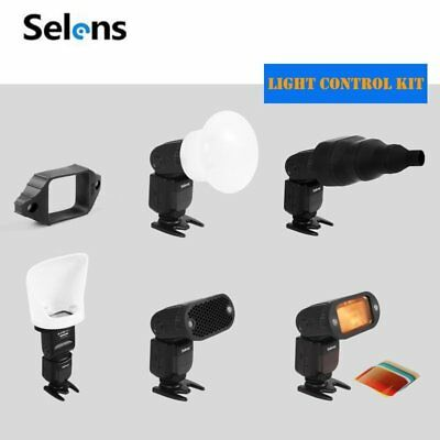 Selens Universal Magnetic Flash Accessories Modifier Honeycomb Grid Gel Filter