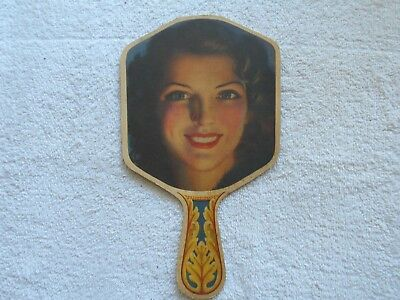 Cardboard Fan--Ad For Peggy's Beauty Shop-Nescopeck,penna