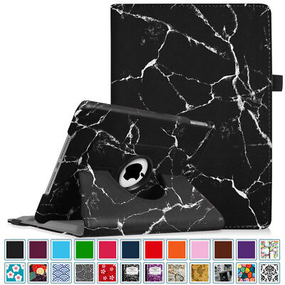 For New iPad 6th Gen 9.7 inch 2018 Tablet A1893 A1954 Rotating Case Cover Stand