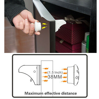 Invisible Magnetic safety Lock Set For Cupboard Door Drawer Baby Children Safe