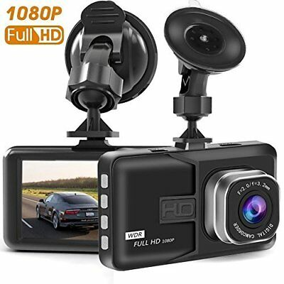 "New Dash Cam 3.0"" LCD Car Dvr Camera Recorder with FHD 1080 P, Night Vision"