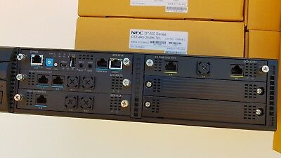 NEC SV9100 with 8x DTZ-24D handsets 12 months w/ty. Tax invoice