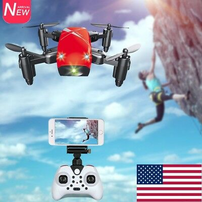 S9 Micro Foldable WiFi FPV 0.3MP Camera Drone 2.4G 4CH 6-axis Gyro RC Quadcopter