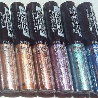 LOT OF 2 or 3 NYC Sparkle Eye Dust Wand - Choose Your Color #886, #887