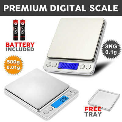 3KG/500G Kitchen Food Weight Postal Scales Digital LCD Electronic Balance