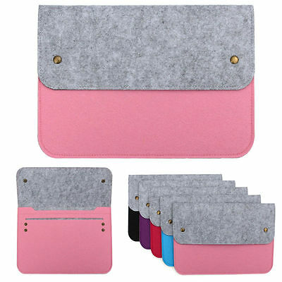 Felt Sleeve Bag with Cover CHARGER Case for MacBook Pro, Retina & Air