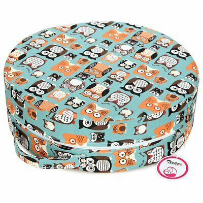 Kids Dining Chair Seat Cushion Seat Chair Cover Toddler  Seat Pad Booster Blue