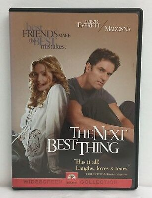 The Next Best Thing (DVD, 2000, Sensormatic - Widescreen) Complete w/ Insert 1E