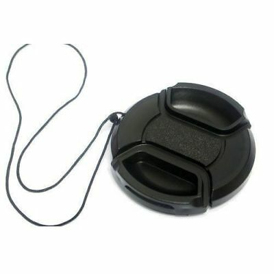 77mm Front DSLR Camera Lens Cap Cover Protector Snap-On Canon Nikon Sony Pentax