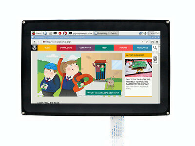 Raspberry PI Touch Screen 10.1inch Capacitive HDMI LCD 1024×600 for Mini-PCs