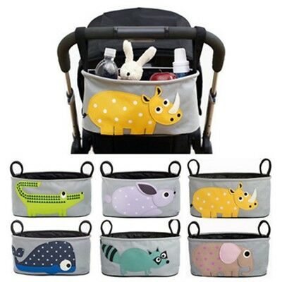 Baby Pushchair Multifunctional Stroller Organizer Hanging Bag Nappies Storage NQ