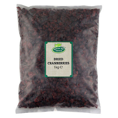 Dried Cranberries (Free UK Delivery)