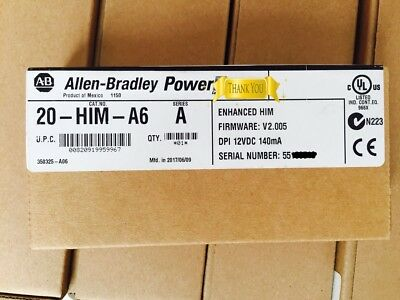 100% NEW Allen Bradley AB 20-HIM-A6 in box 20HIMA6