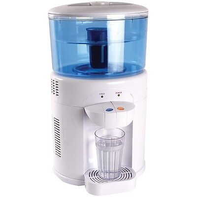 Water Filter Machine and Cooler (5L Tank, Carbon Filters) Just Add Tap Water