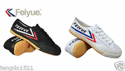 Feiyue Original Lo Parkour Training Martial Arts Wushu Kung Fu Shoes Stock New