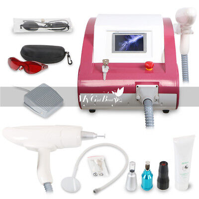Q Switch ND YAG LASER Tattoo Removal Eyebrow Callus Removal Beauty Machine Spa