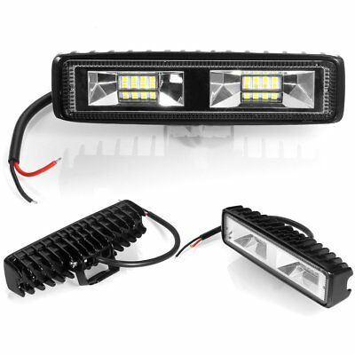 18W Spot Cree LED Light Work Bar Lamp Driving Fog Offroad SUV Car Boat Truck 4WD