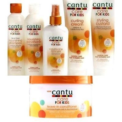 Cantu Care For kids Gentle care for textured Hair (full set - total 6 pieces)