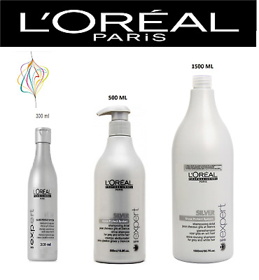 Loreal Professional Serie Expert Silver Purple Toning Shampoo