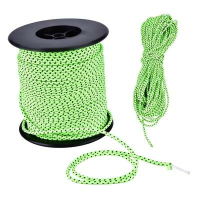 2.5MM Camping Tent Awning Reflective Guyline Rope Cord Paracord Strap Green SP