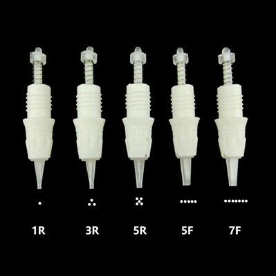 Cartridge Needles for Charmant 2 Permanent Eyebrow Eyeline Makeup Tattoo Machine