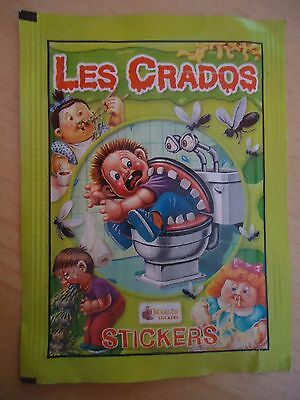 POCHETTE NEUVE * Les CRADOS 3 * 2004 album card Sticker Garbage Pail Kid FRANCE