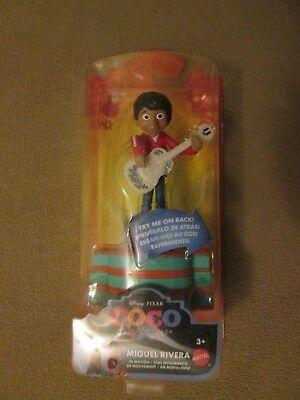 Walt Disney Pixar Coco Miguel Rivera In Motion Figure, Brand New, Free Shipping
