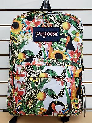 e9faaa0507 JANSPORT SUPERBREAK BACKPACK Multi Ribbons **NEW with Tag** - $28.49 ...