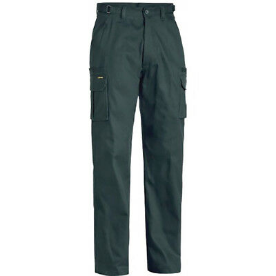 Bisley BPC6007 8 Pocket Cargo Cotton Drill Work Trousers Pants Size:112R BOTTLE