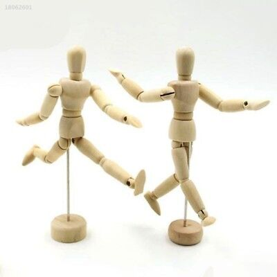 38298E9 Wooden Manikin Mannequin 12Joint Doll Polish Model Articulated Display