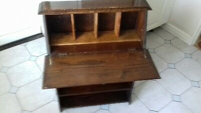 Writing desk bookcase bureau